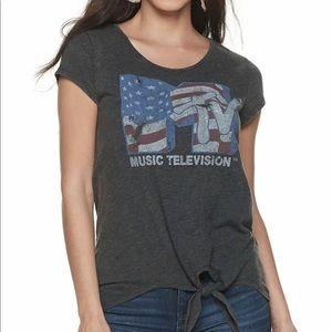 Rock and Republic MTV Logo Tee